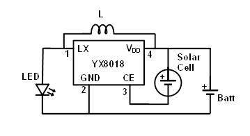 ing an LED solar garden light - Blogs - Virtual ...  Pin Ic Schematic Diagram on