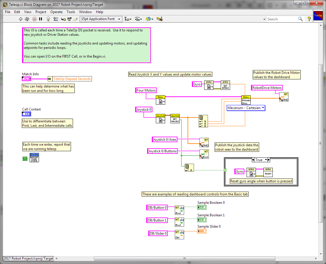 Using the FIRST Gyro Board in FRC LabVIEW - The Engineering