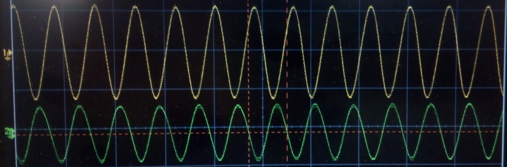 Different amplitudes of DAQ2 output sine waves - Q&A - FPGA