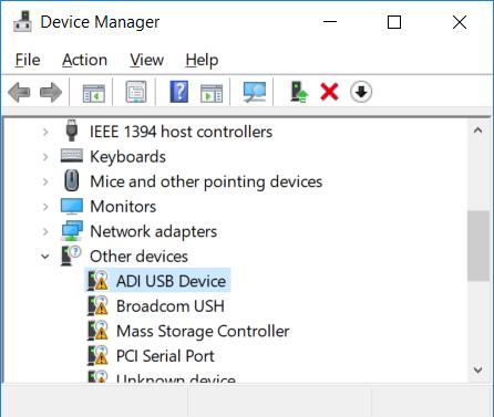 FTDI USB driver problem on Windows 10 - Q&A - Audio - EngineerZone