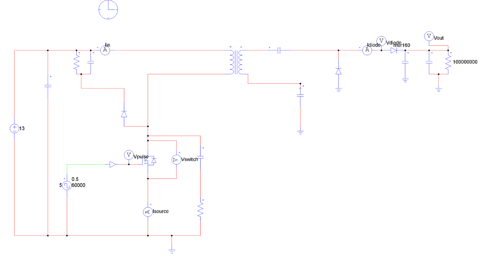 Dc Controller With Output Of 500 V Qa Power By Linear Capacitors Inductors And Transformers In Electronic Circuits Analog I Changed Slightly The Circuit For Can Use Ceramic As Plan To Vacuum Modified Is Below