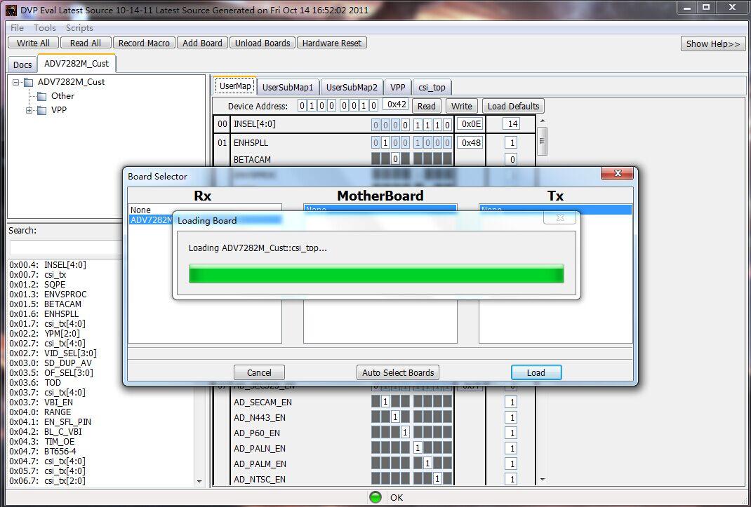 ADV7282M question - Q&A - Video - EngineerZone