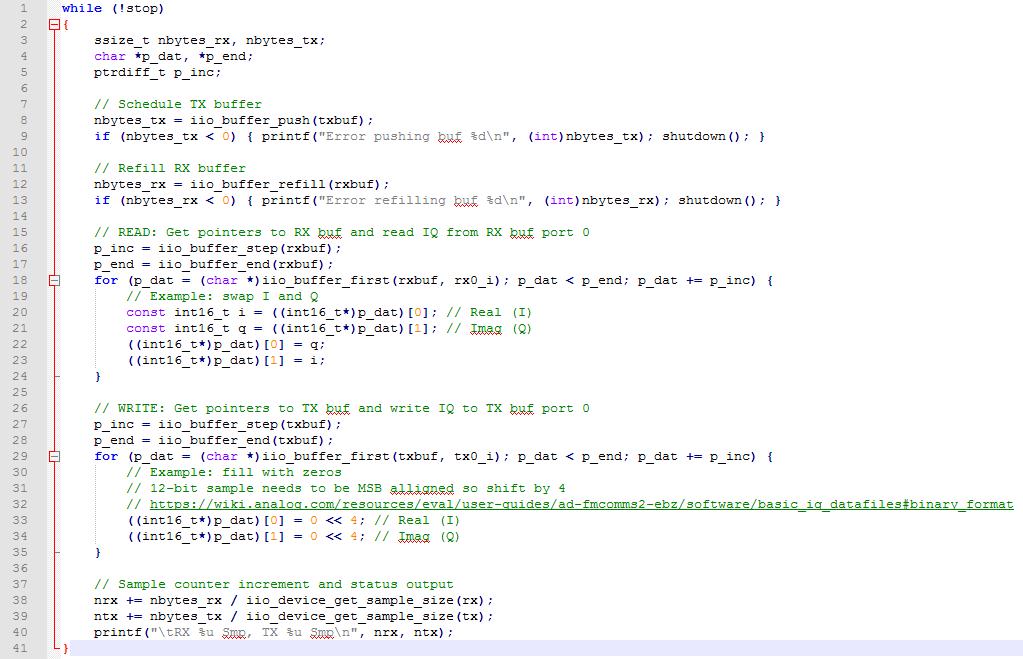 IIO Buffer Methods in C# - Q&A - Virtual Classroom for ADI