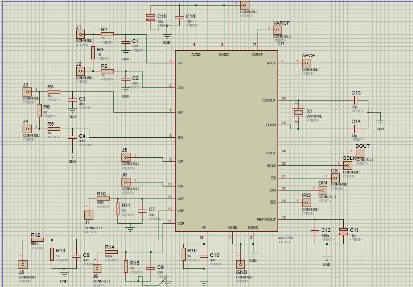 Can't read any register on ADE7758 through SPI comunication