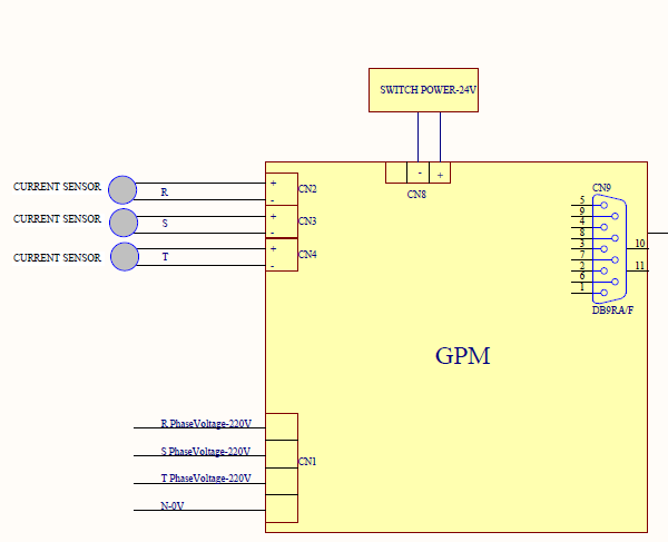 How to use ADE7758 for measurement 3 phase/4 wire(3Ø/4W