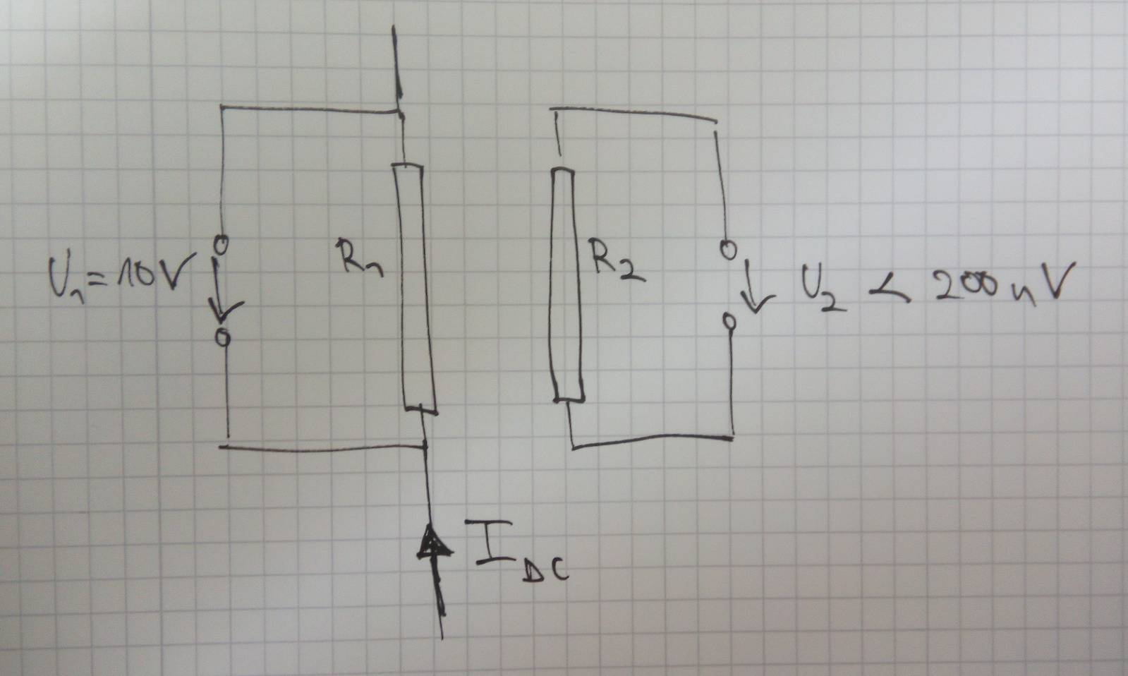 Input Bias Current Return Path Vs Resistor Noise Qa Ac Coupling And Offset Voltage In Amplifier I Have To Measure Both Voltages At The Same Time