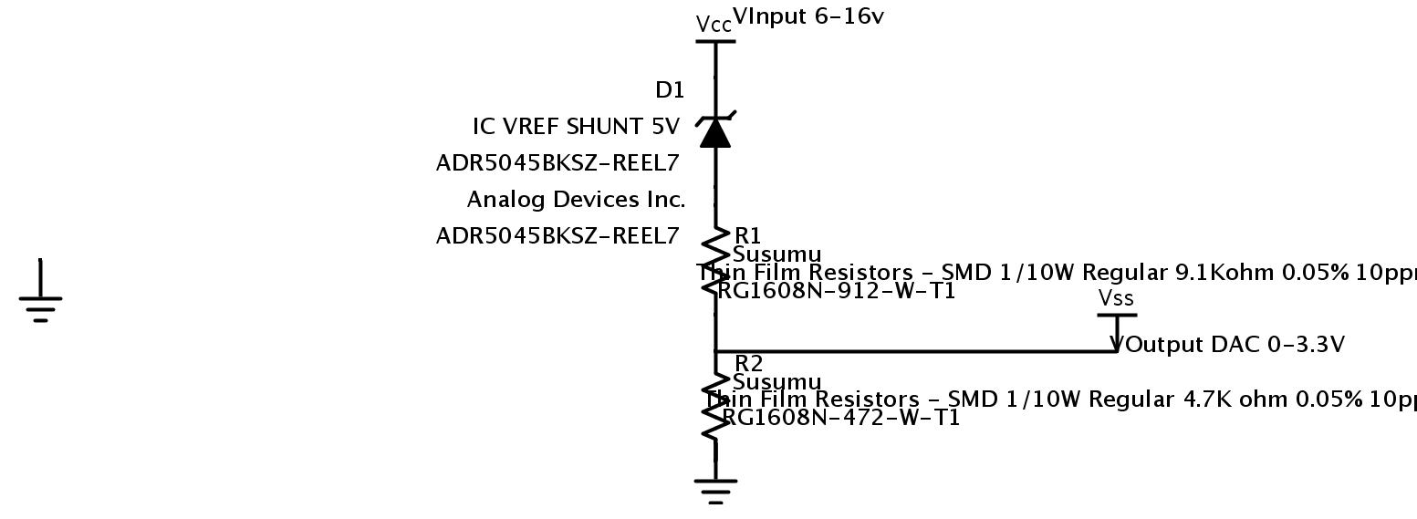 Adr5045 For Voltage Divider As Shunt Regulator Qa Operational Circuit