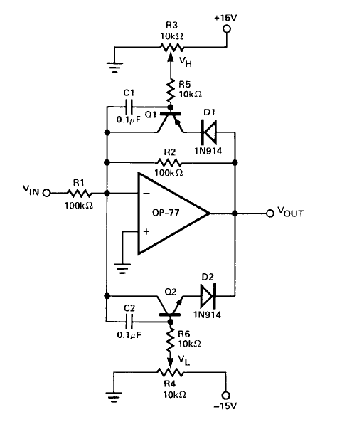 clipping  limiter  circuit for adc frontend - q u0026a - differential amplifiers