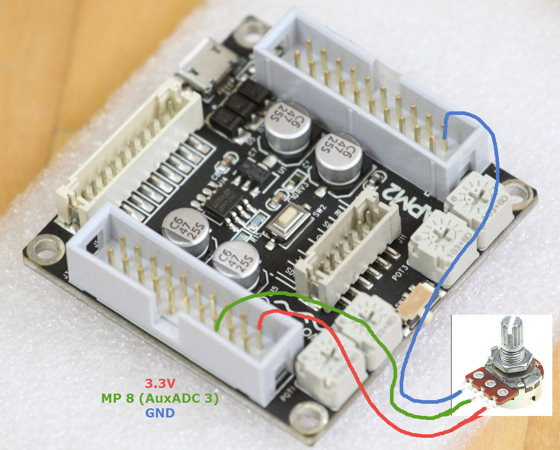 Wiring Potentiometers In Parallel