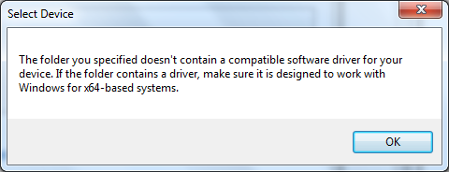 ADUX1020-Eval-SDP 64 bit drivers not working at Windows 10