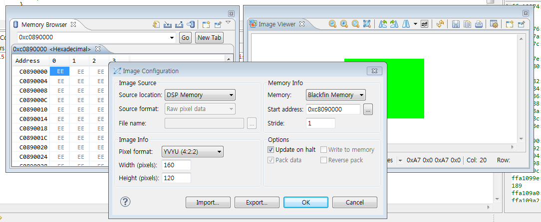 Memory browser(L2 Area) not working in CCES - Q&A