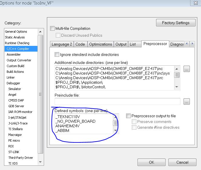 Sample C code for Isolated Inverter Platform (EV-MCS-ISOINV