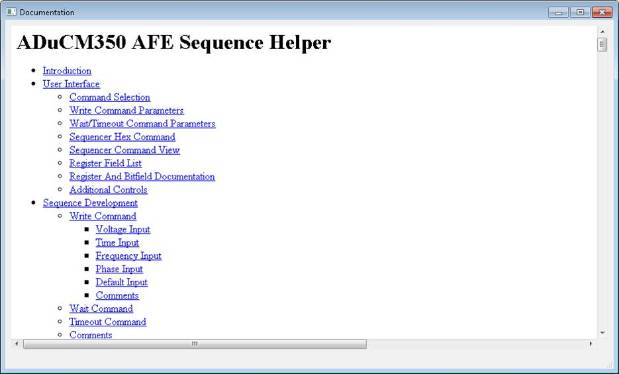 ADuCM350 FAQ AFE Sequencer - Documents - Precision Microcontrollers