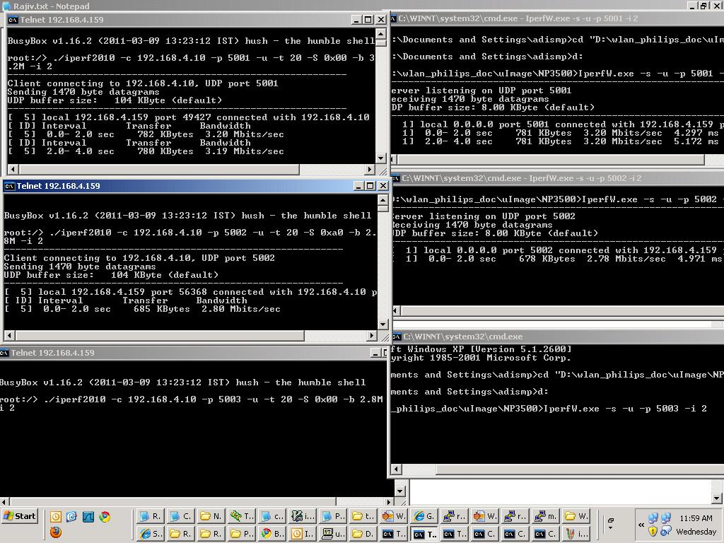 2011-03-10 00:38:01 Configuring the number of end points used in