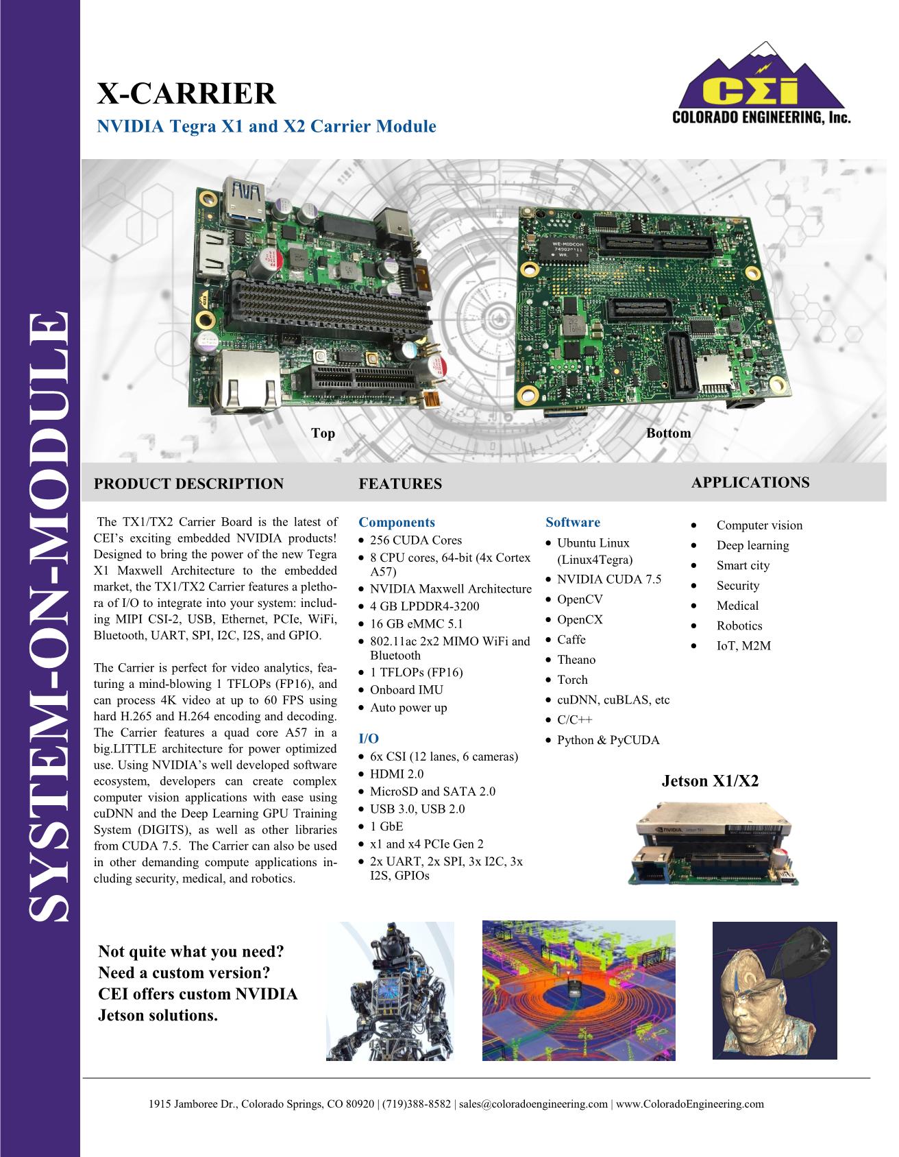 X-Carrier pdf - File Uploads - Colorado Engineering - EngineerZone