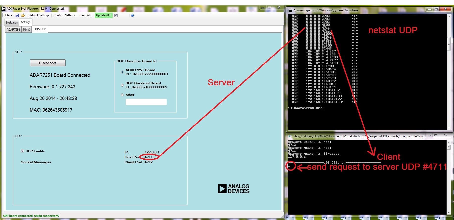 RADAR UDP - Q&A - System Demonstration Platform (SDP