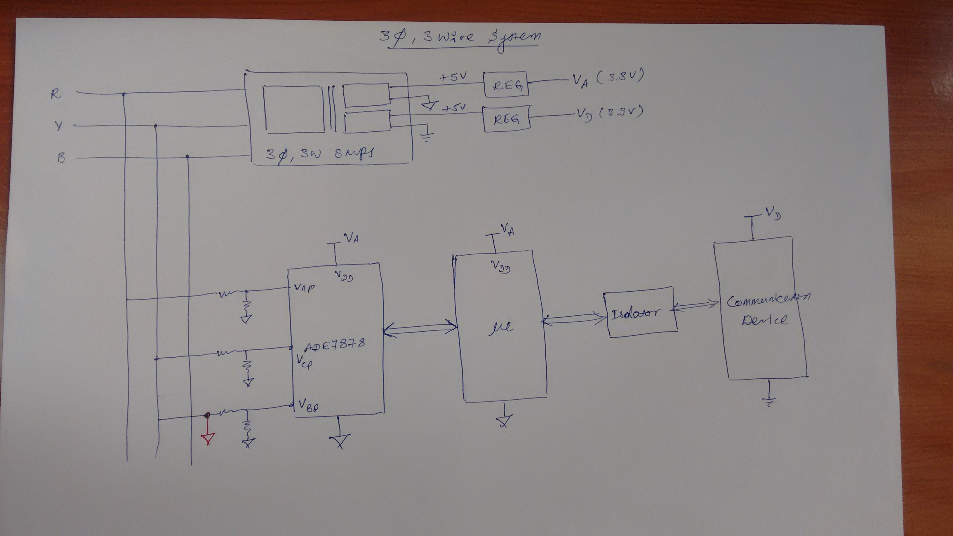 ADE7878 3-Wire Configuration - Q&A - Energy Monitoring and Metering ...