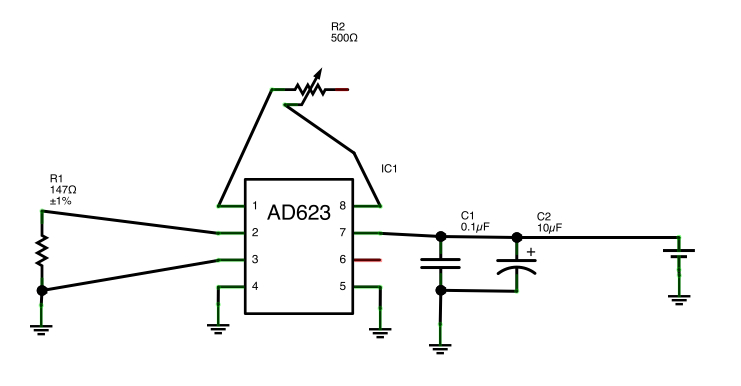 beginner ad623 questions - q u0026a - instrumentation amplifiers