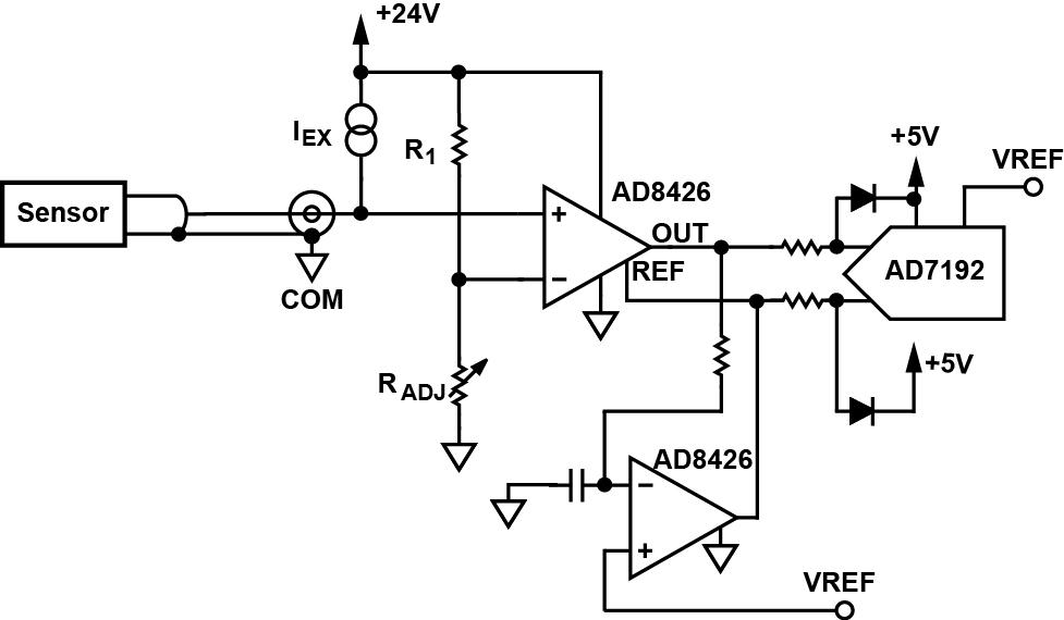 icp piezo force sensor interface to microcontroller