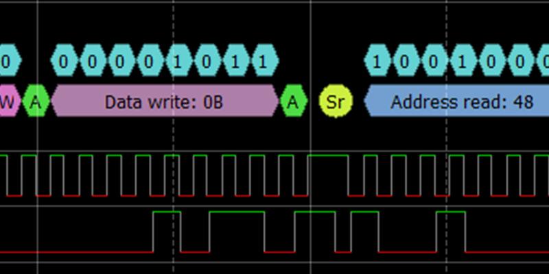 Debug I2C with ADALM2000