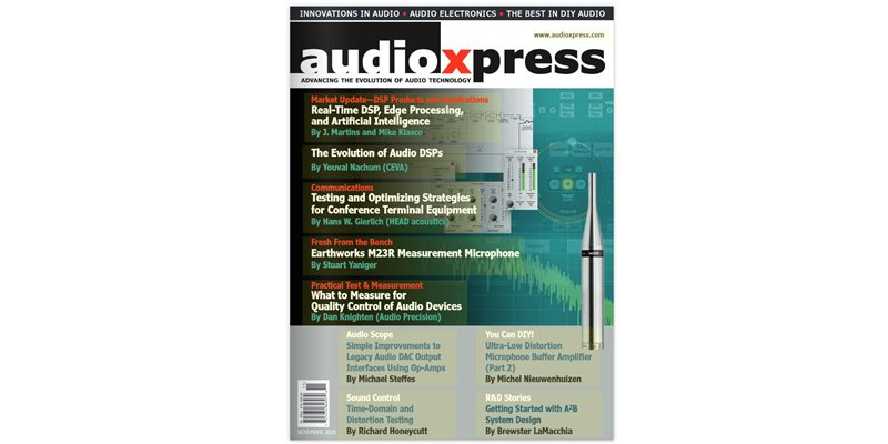 Part 2 of an A2B article series authored by Clockworks in AudioXpress magazine November issue