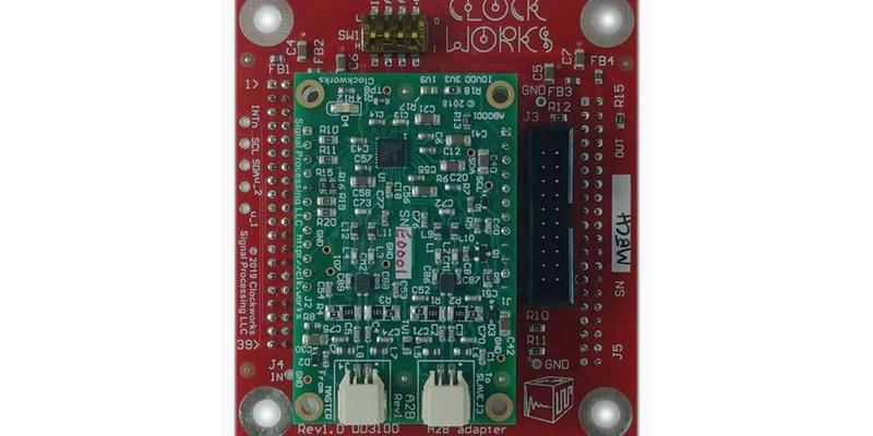 Sneak Peek - Clockworks A2B Module to SignalBlox adapter board