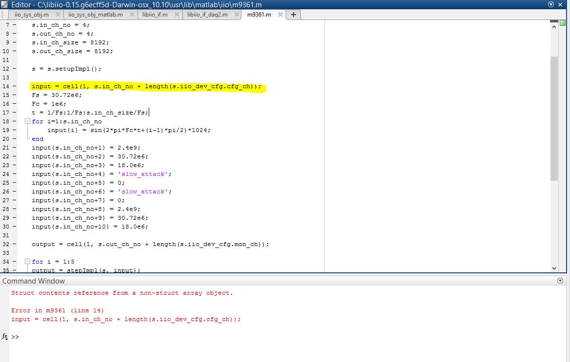 MATLAB AD9361 data stream example question - Q&A - FPGA