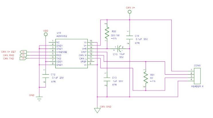 ADM3052 with Microchip MCU problem - Q&A - Interface and