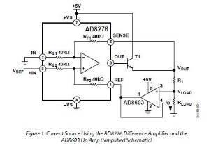 amplifier for picoamper current source q a operational rh ez analog com