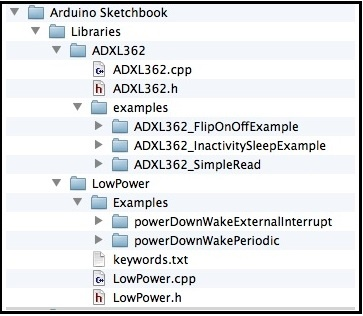 ADXL362 + Arduino: Using Interrupts to Implement Motion