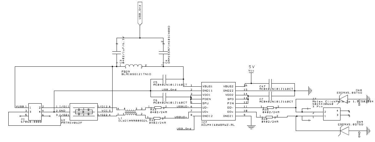 ADUM4160 - Advice re schematic - Q&A - Interface and Isolation ... on usb schematic diagram, digital oscilloscope schematic, usb soldering schematic, usb interface schematic, usb circuit schematic, usb hub schematic, usb charger schematic, usb pcb schematic, usb cable schematic, usb power schematic, oscilloscope probe schematic, usb mouse schematic, rs232 to usb adapter schematic, usb controller schematic, usb circuit diagram, usb connector schematic, usb switch schematic, usb led schematic, usb camera schematic, usb audio schematic,