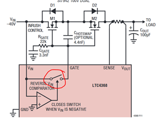 Ltc4368 Bidirectional Switch Q A Power By Linear Engineerzone
