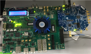 ADRV9009 + Altera Arria10 SoCFPGA, device adrv9009 is not found with