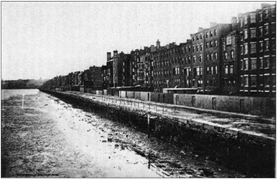 Boston Seawall 1890