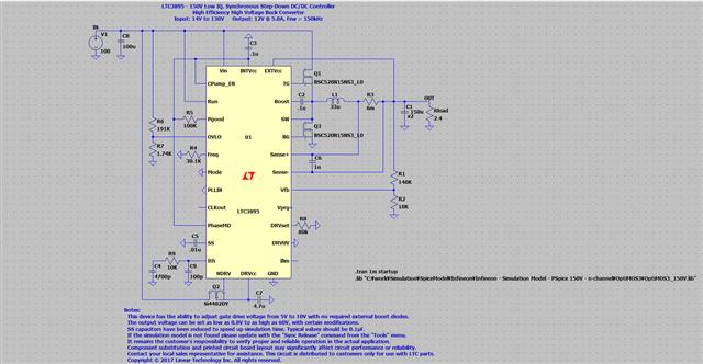 LTspice model for MOSFET - Q&A - Design Tools and Calculators