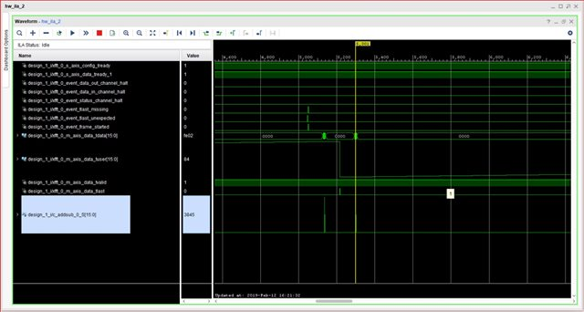 FFT of 1Mhz signal applied through DDS