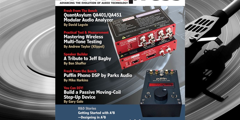 Part 3 of an A2B article series authored by Clockworks in AudioXpress magazine December issue